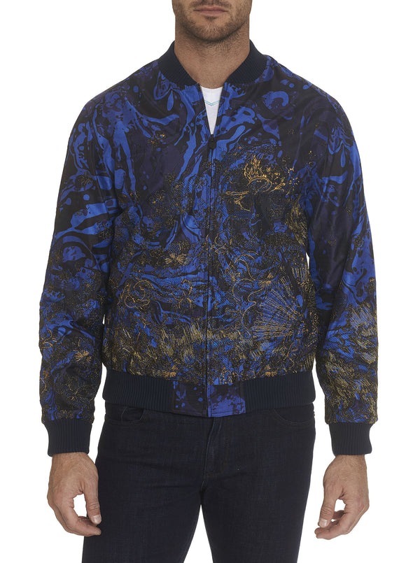 LIMITED EDITION THE LEWIS SILK BOMBER