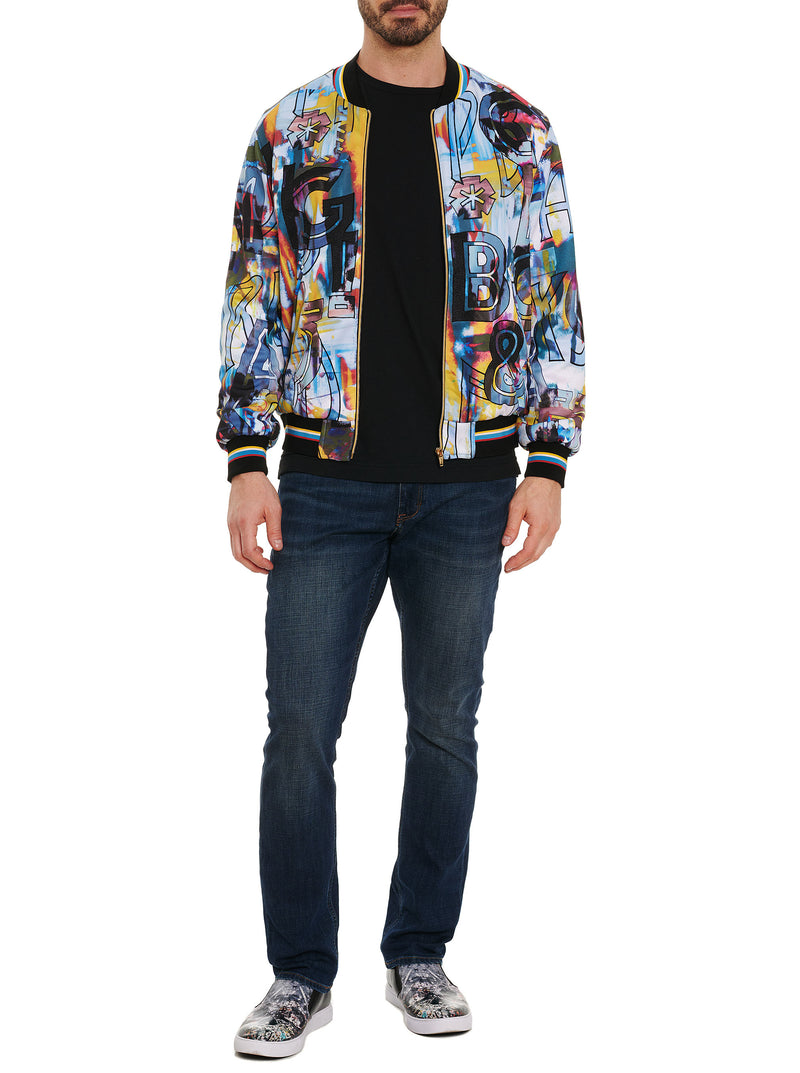 LIMITED EDITION PEACE & LOVE BOMBER