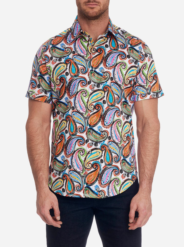 PAISLEY PUNCH SHORT SLEEVE SHIRT BIG