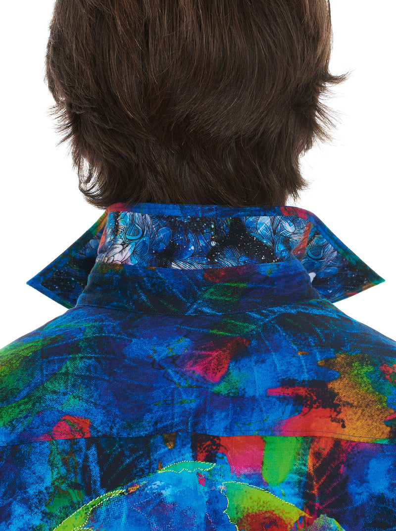 RAW TALENT EMBROIDERED SPORT SHIRT