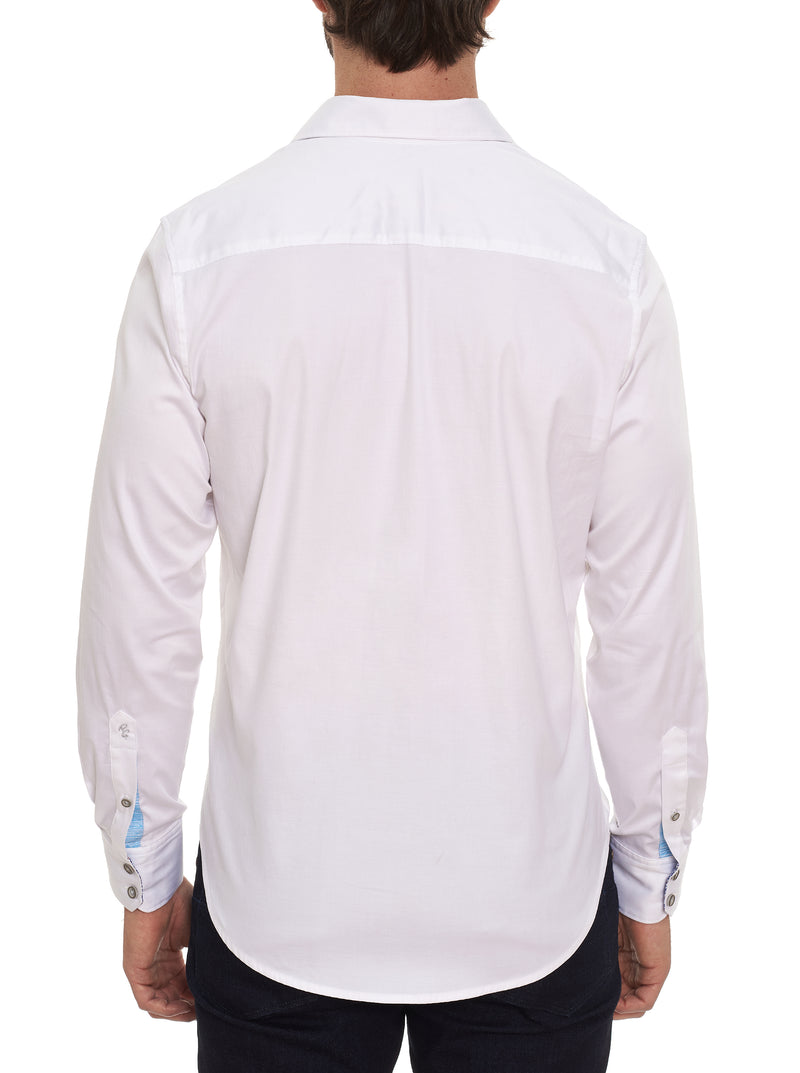 TEQUILA EMBROIDERED SPORT SHIRT