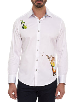TEQUILA EMBROIDERED SPORT SHIRT BIG