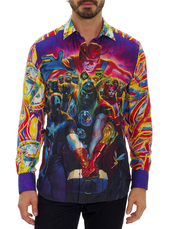 LIMITED EDITION WHATEVER IT TAKES SILK SPORT SHIRT BIG