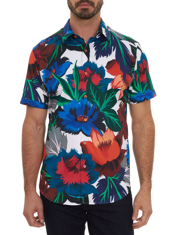 FLORAL CONFUSION SHORT SLEEVE SHIRT