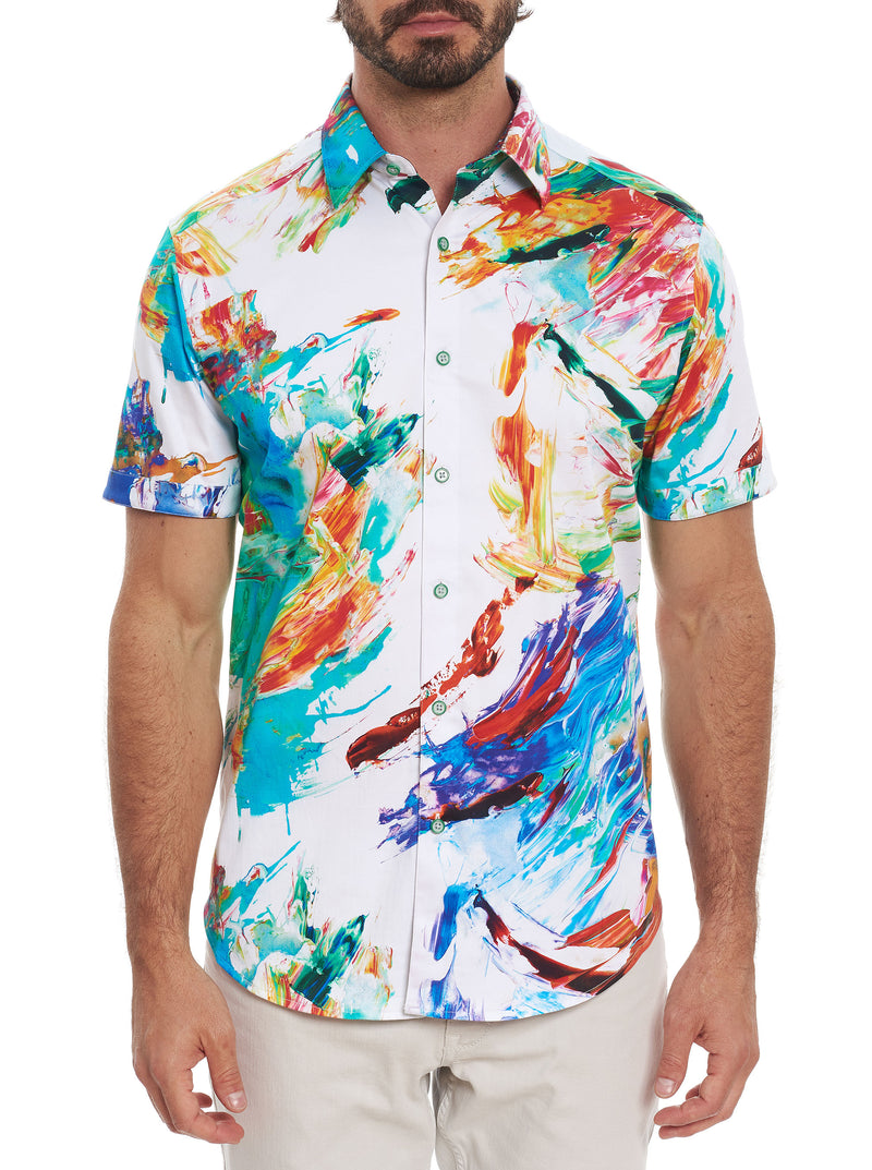 FIREWORKS SHORT SLEEVE SHIRT TALL