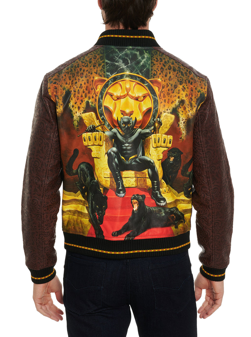 PANTHER THRONE LEATHER JACKET