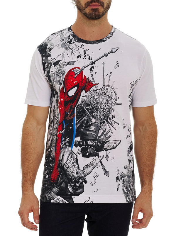 SPIDEY BATTLE T-SHIRT TALL