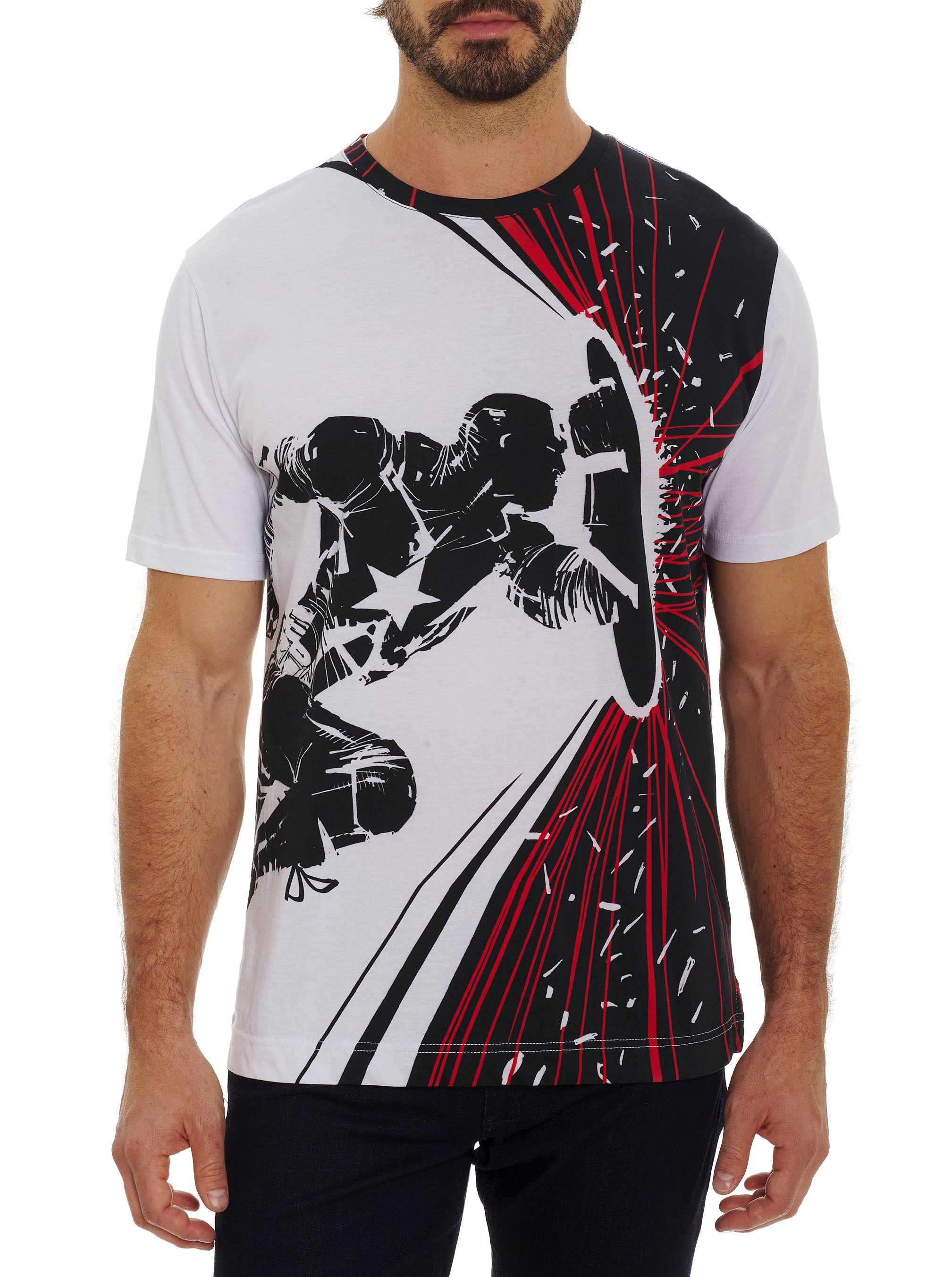 Robert Graham COURAGE & POWER T-SHIRT TALL