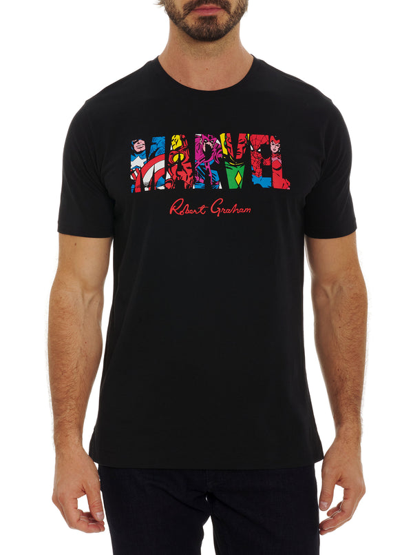 MARVEL TEAM UP T-SHIRT TALL
