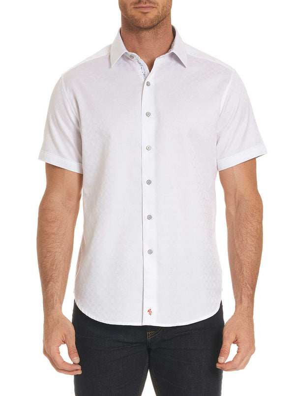 DIAMANTE SHORT SLEEVE SHIRT