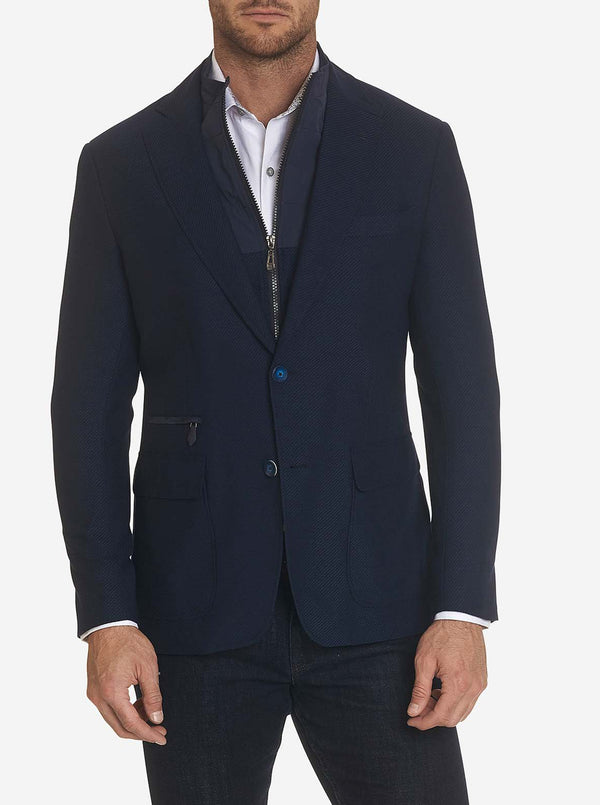 DOWNHILL VII SPORT COAT LONG FIT