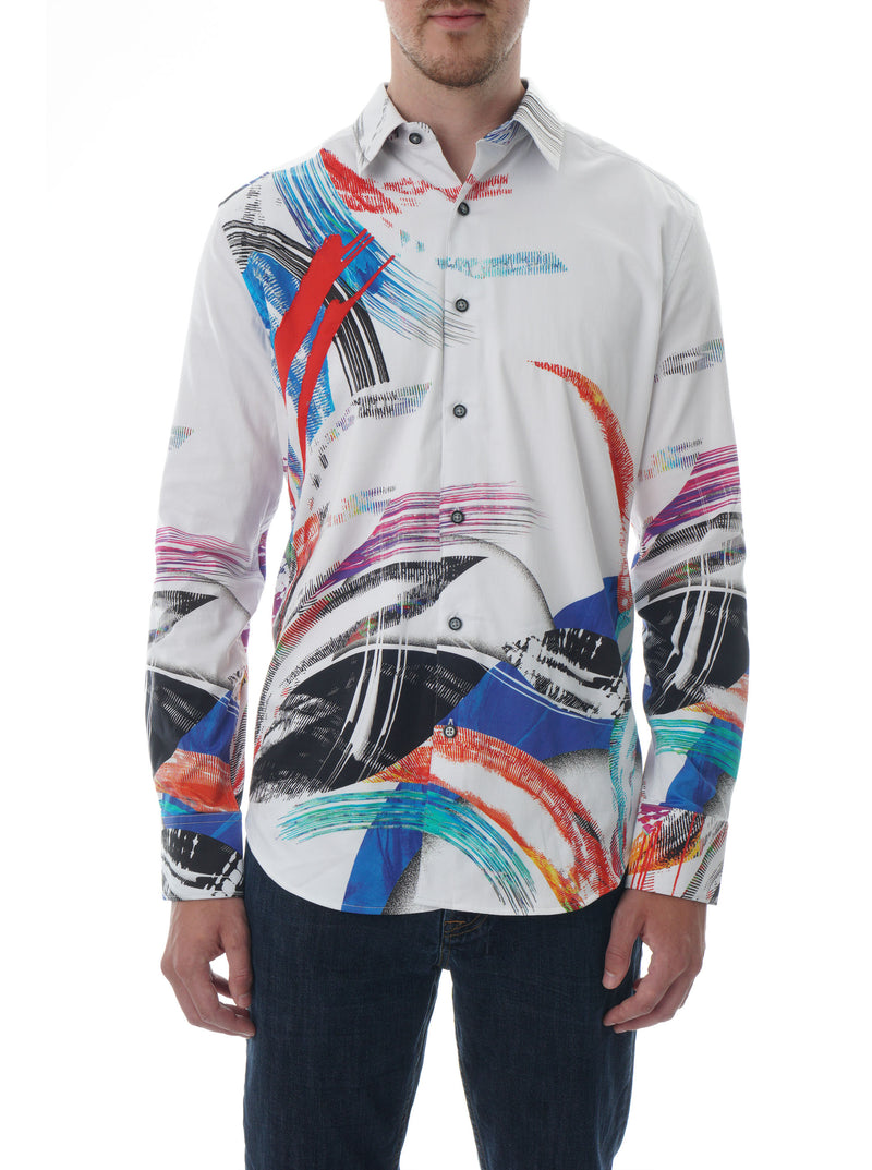 ROCK HOUSE EMBROIDERED SPORT SHIRT TALL