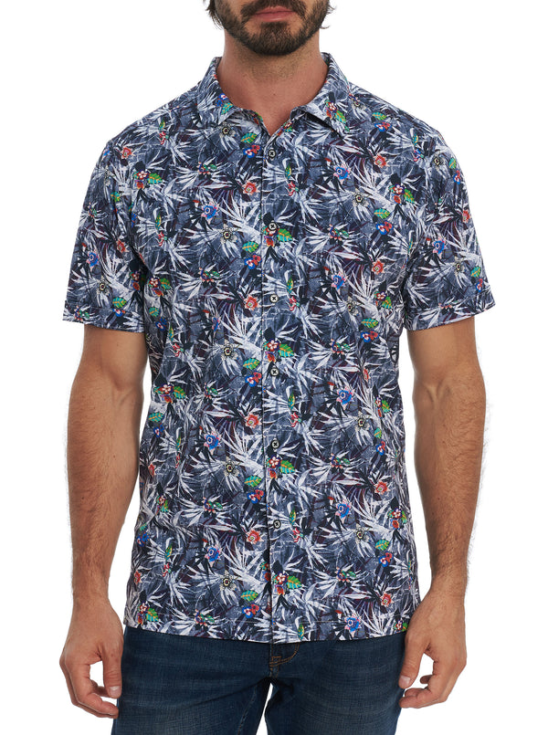 CATCH WAVES SHORT SLEEVE SHIRT