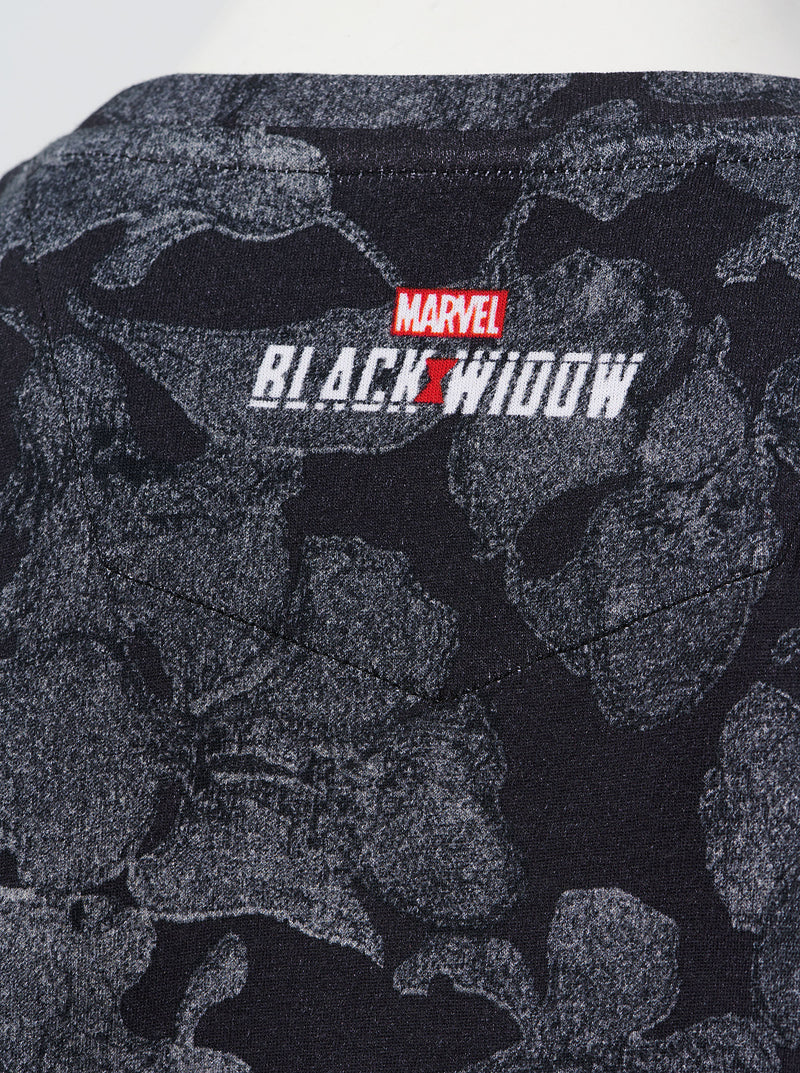 WOMEN'S BLACK WIDOW T-SHIRT