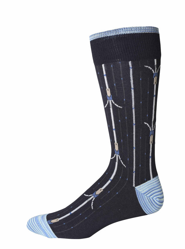BERGMAN SOCKS - Navy