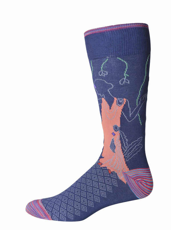 CASABLANCA SOCKS - Blue