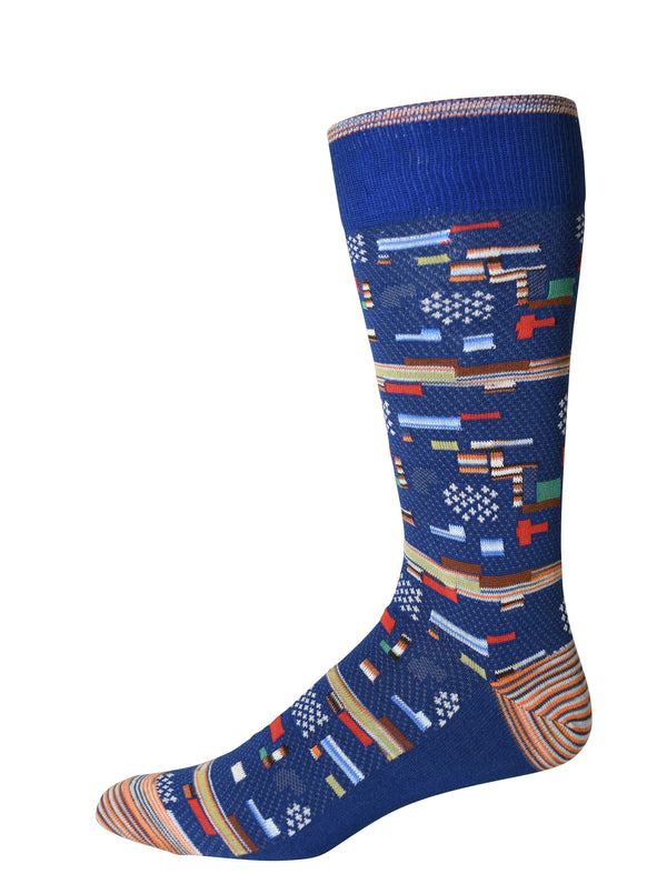 CITY LIGHTS SOCKS - Blue
