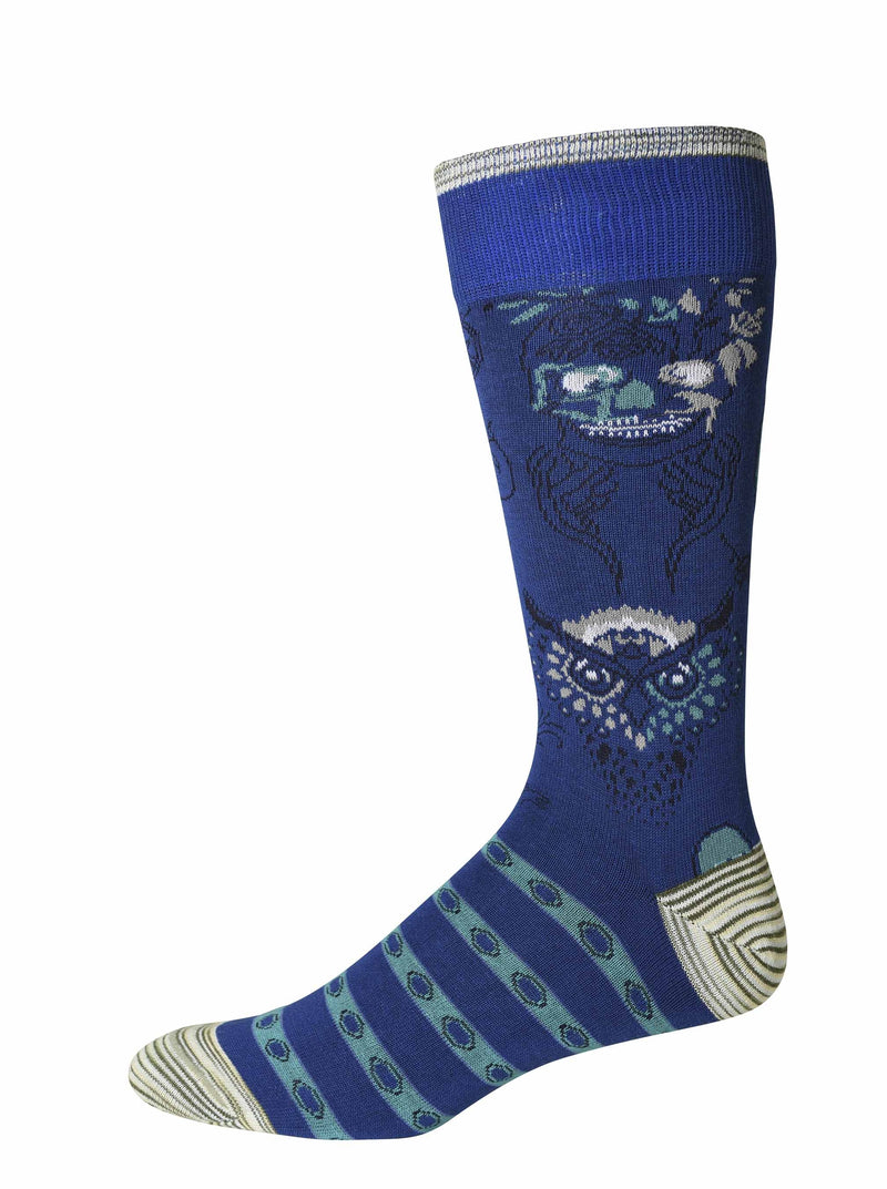 GARLAND SOCKS - Blue