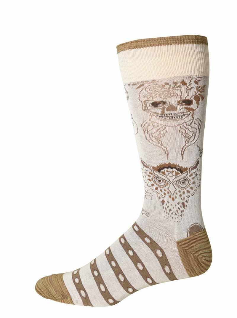 GARLAND SOCKS - Cream