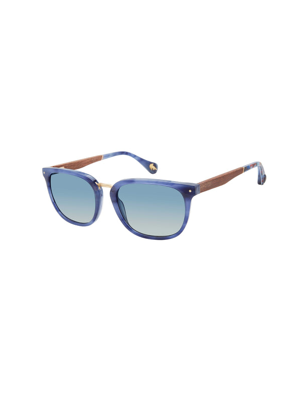 HUDSON SQUARE SUNGLASSES - Navy