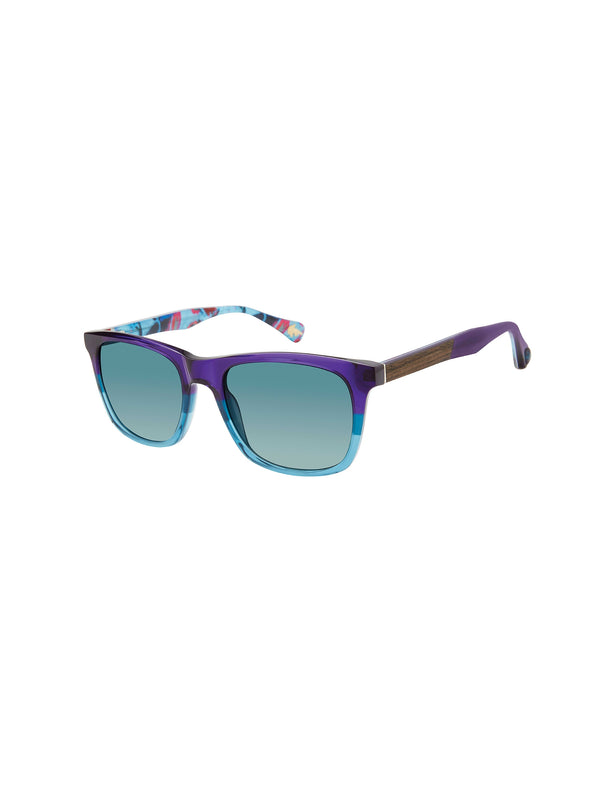 JULIAN SQUARE SUNGLASSES - Purple