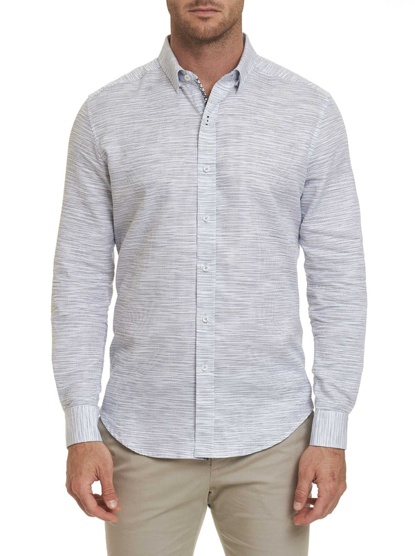 TAILORED FIT CRANTOR SPORT SHIRT - White
