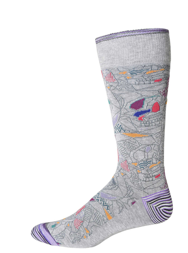 MYRON SOCKS - Light Grey