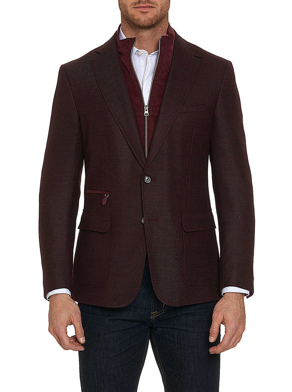 DOWNHILL SPORT COAT - Bordeaux