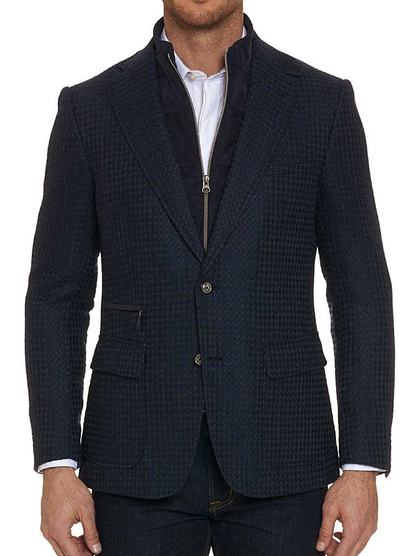 DOWNHILL SPORT COAT LONG FIT