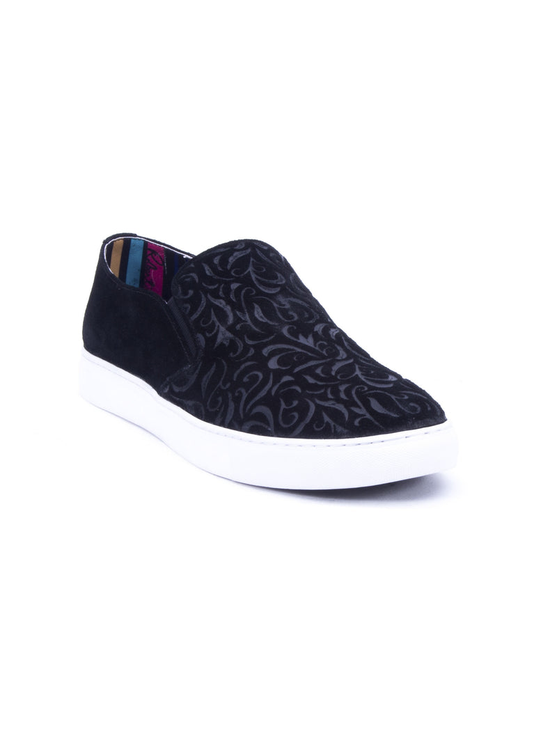 CORMAC SLIP ON SNEAKER - Black