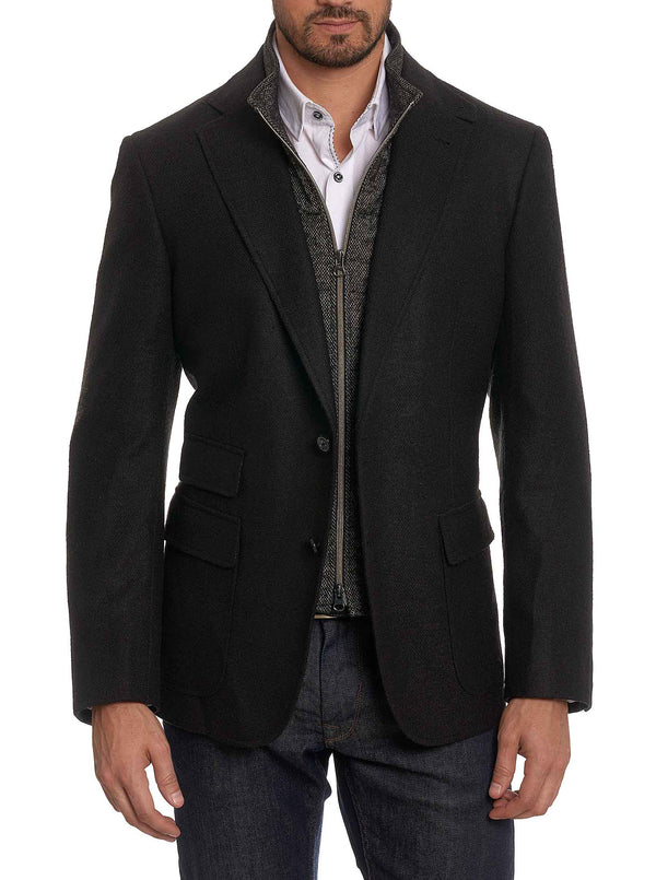 UPLANDS TAILORED FIT SPORT COAT