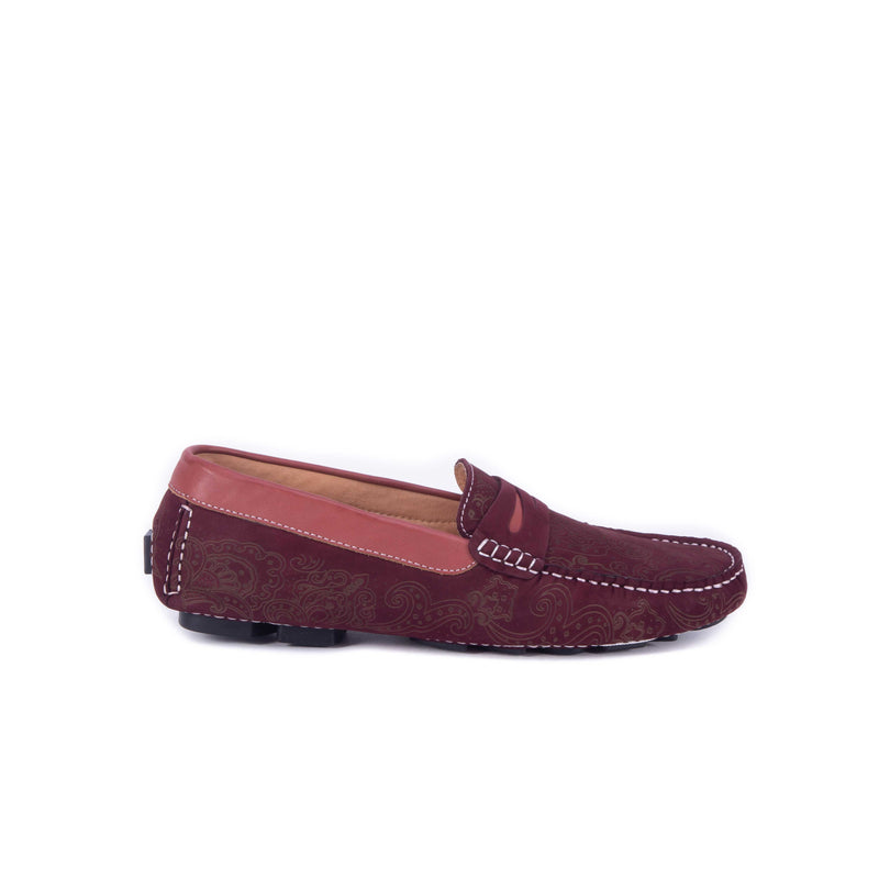 RAMPA LOAFER - Bordeaux