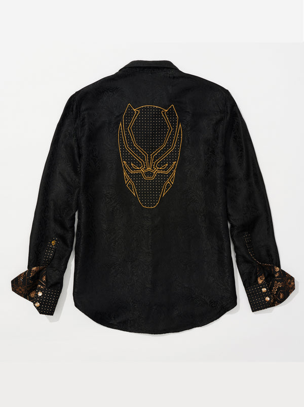 LIMITED EDITION WAKANDA SILK SPORT SHIRT