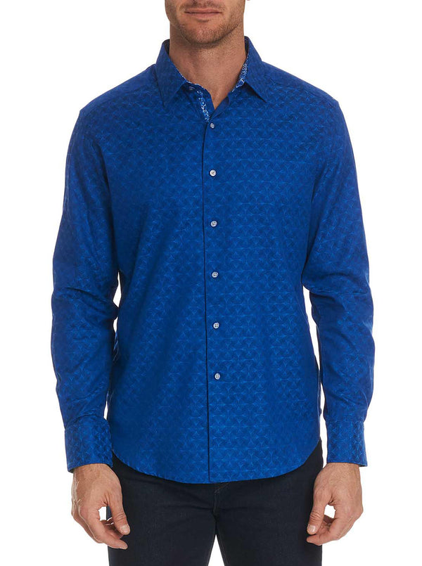 DIAMANTE SPORT SHIRT - Cobalt