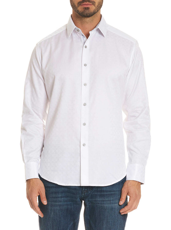 DIAMANTE SPORT SHIRT BIG - White