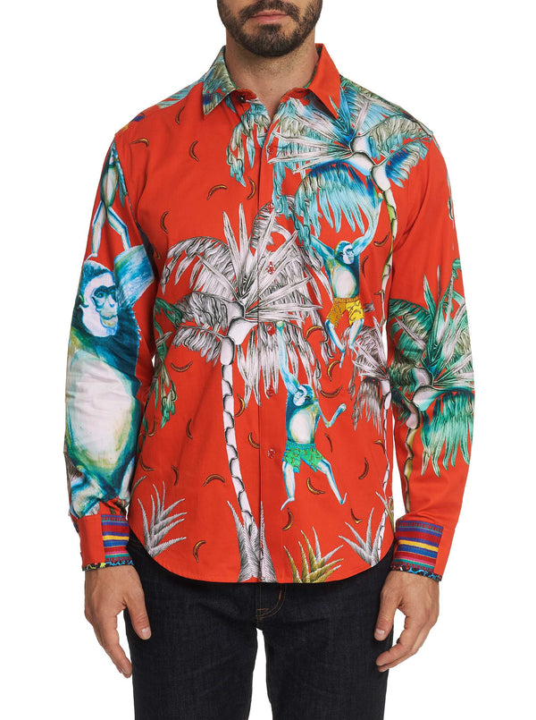 Limited Edition MONKEYING AROUND SPORT SHIRT