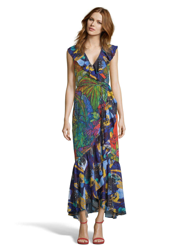 SOPHIA BOTANICAL PRINT DRESS