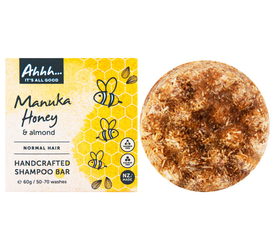 Manuka Honey and Almond Shampoo Bar