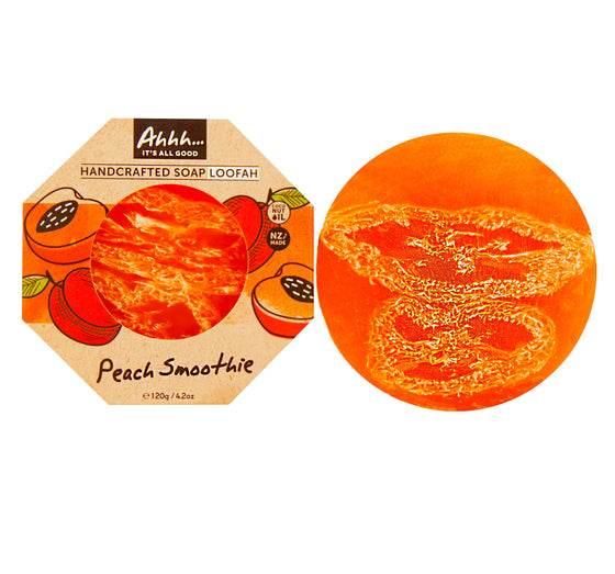 Peach Smoothie Loofah Soap