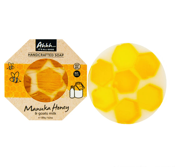 Manuka Honey and Goats Milk Soap