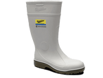 006 Blundstone White Armorchem Gumboot Steel Toe - Safety Boot