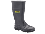 025 Blundstone Grey Comfort Arch Gumboot Steel Toe - Safety Boot