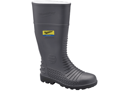 Blundstone Grey Safety Gumboot 025