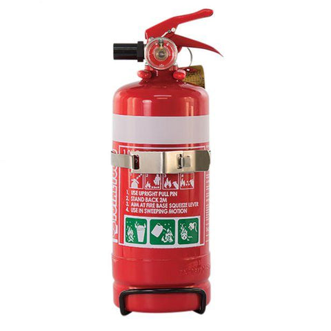 1.0kg Fire Extinguisher with Vehicle Bracket MF1ABE