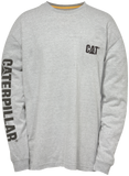 P510034.010 CAT Trademark Banner Long Sleeve Tee