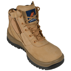 261050 Mongrel Zip Sided Lace Up Steel Toe - Safety Boot