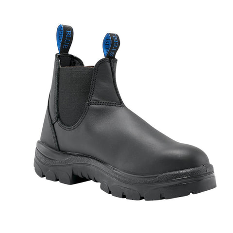 310101 Steel Blue Hobart Elastic Sided Boot - Non Safety