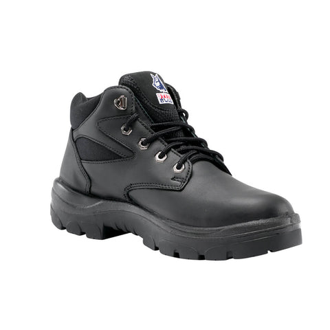 312108 Steel Blue Whyalla Lace Up Steel Toe - Safety Boot