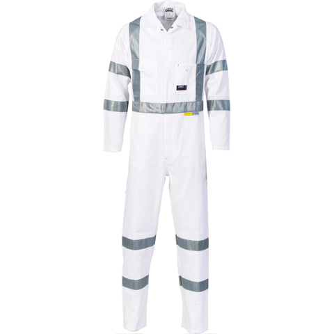 3856 DNC 311gsm RTA Standard Night Worker Coveralls With 3M8910 R/Tape