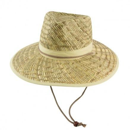 Harvester Straw Hat w Cord and Toggle